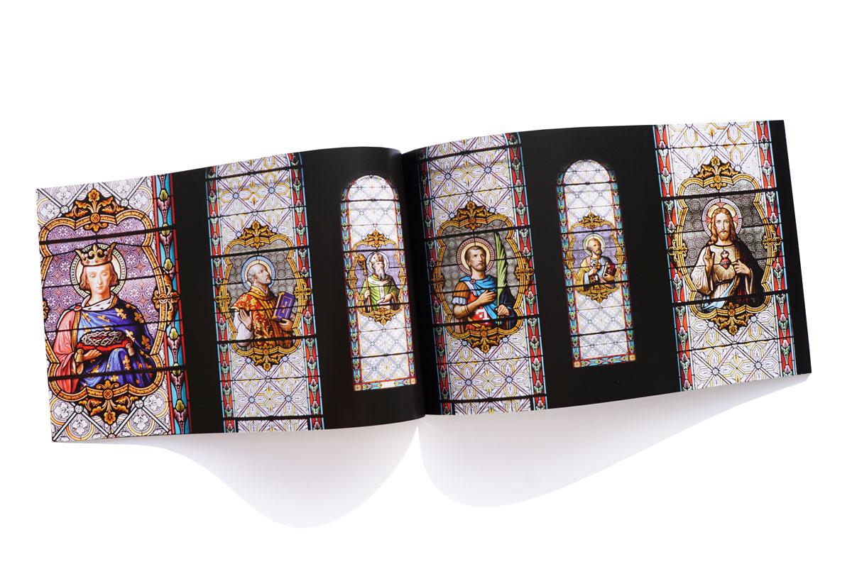 Livre Eglise Feydey - Vitraux