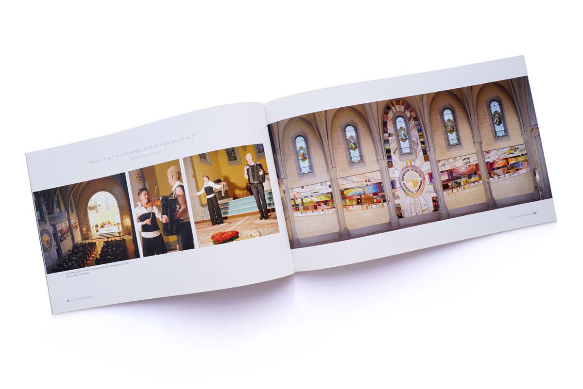 Livre Eglise Feydey - Fresque
